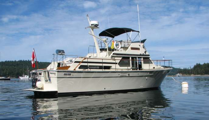 Tolly Classified Ad 1979 40 Tri Cabin Motor Yacht